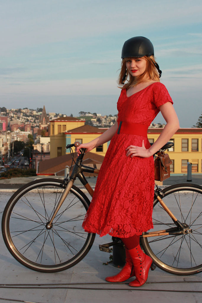 Cycle Style - SF Bike Party and Wear Red Day