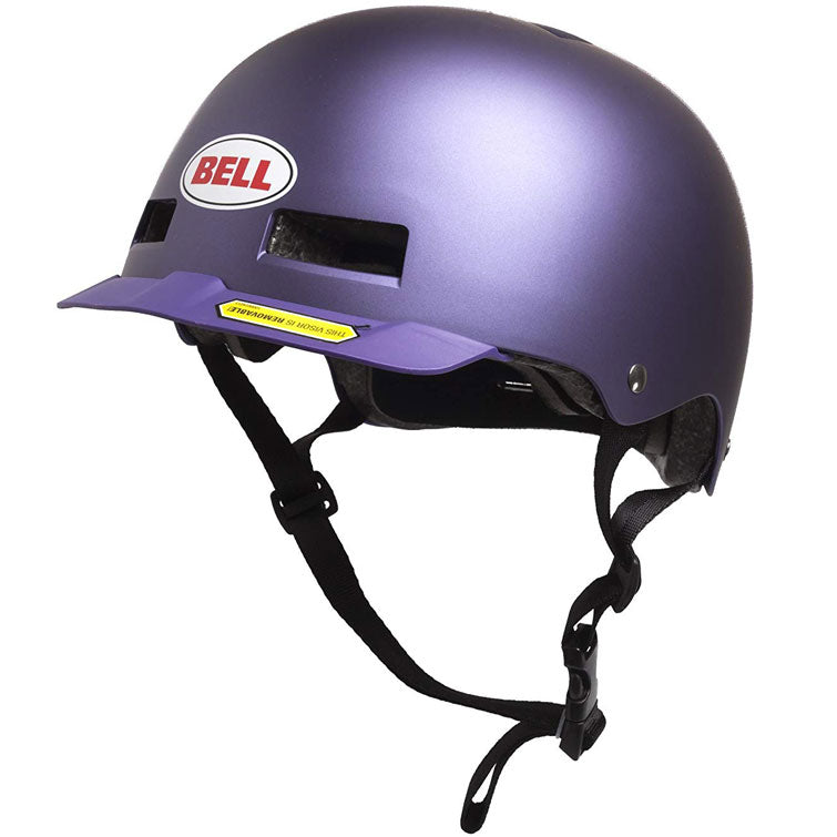 Bell Multi-Sport Helmet Removable Visor, Purple