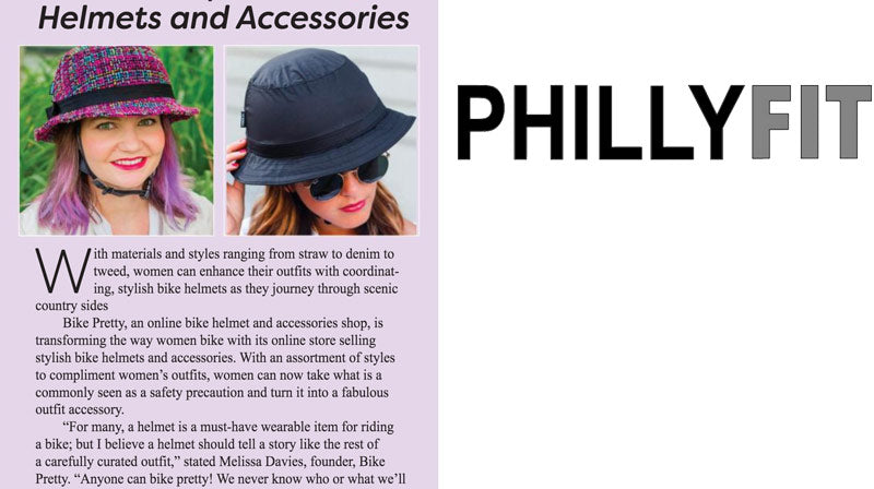 Bike Pretty Stylish Helmets in Philly Fit Magazine
