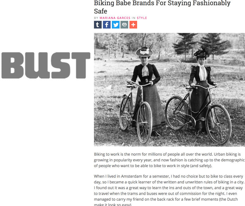Bike Pretty in Bust Magazine
