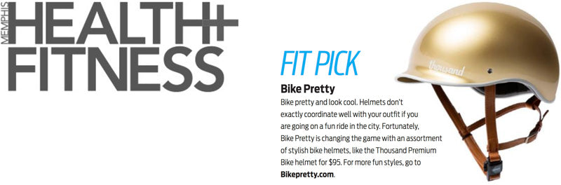 Bike Pretty in Memphis Health + Fitness Magazine