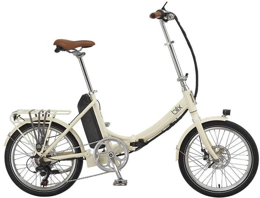 Blix Bikes Vika+ Utility-friendly Electric Folding Bike