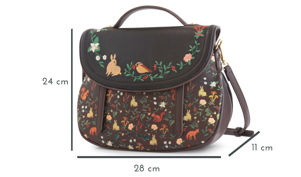 Nature Friends Backpack Purse Dimensions