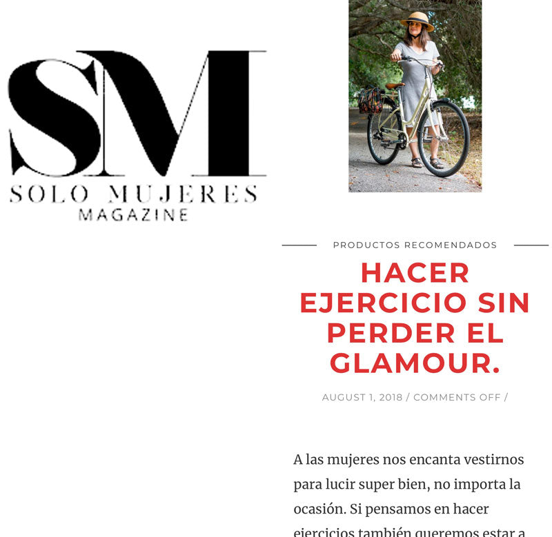 Bike Pretty in Solo Mujeres Magazine