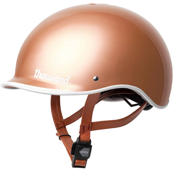 Thousand Rose Gold Bike Helmet