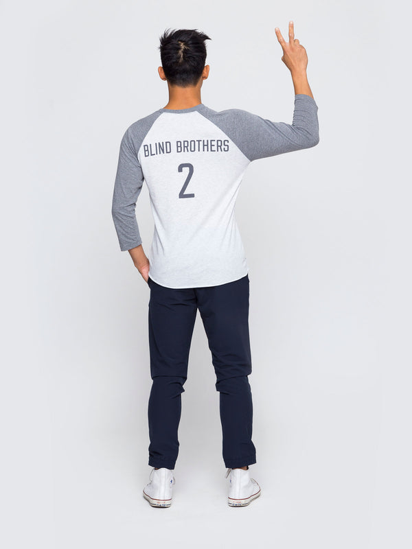 Two Blind Brothers - Mens 2BB Baseball Graphic Tee all