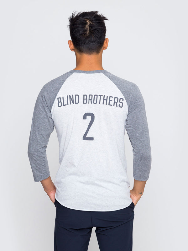 Two Blind Brothers - Mens Baseball Tee Team-2BB-Baseball-Tee