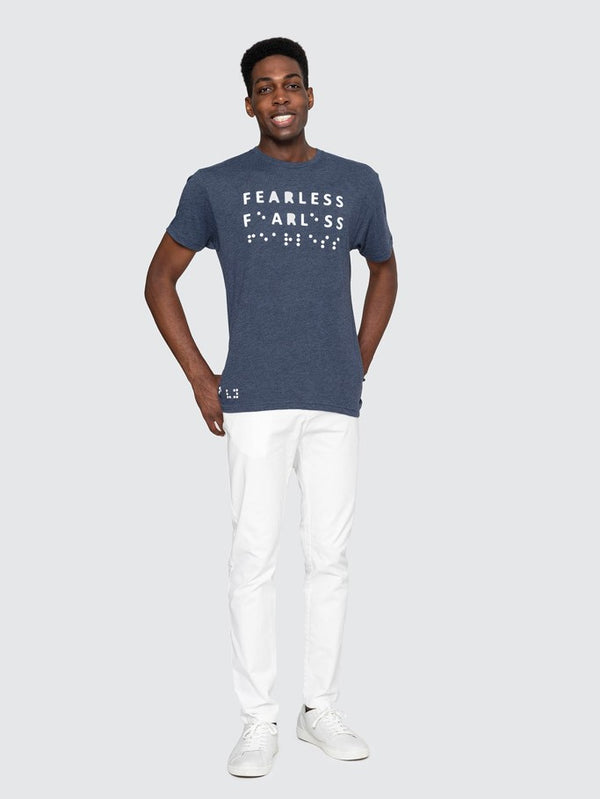 Two Blind Brothers - Mens Fearless Graphic Crewneck all