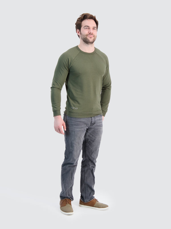 Two Blind Brothers - Mens Men's Raglan Forest