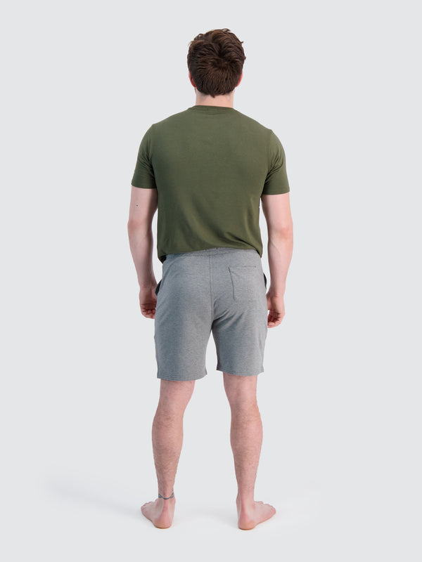 Two Blind Brothers - Mens Men's French Terry Lounge Shorts Medium-Grey-Heather