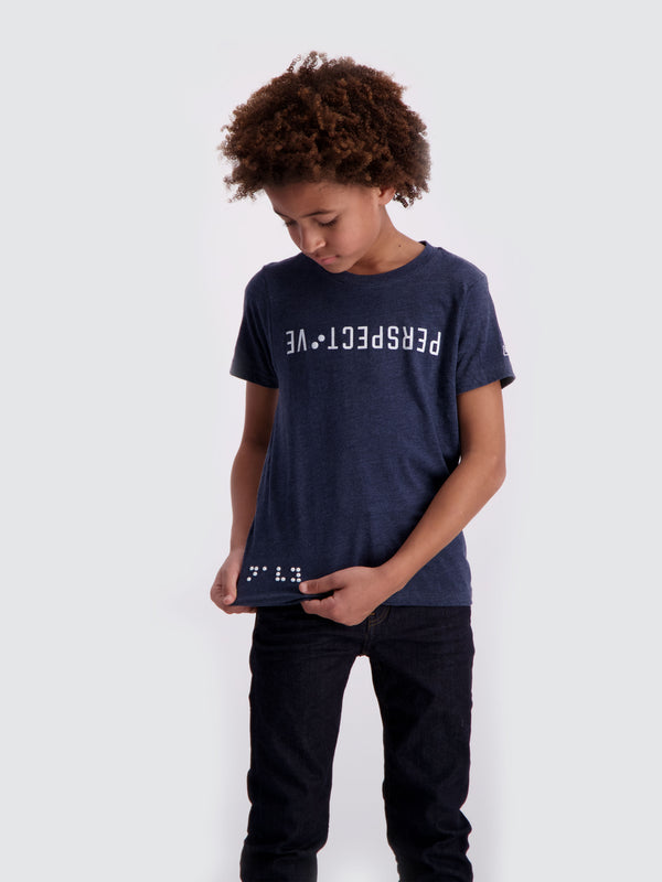 Two Blind Brothers -  Boys' Perspective Graphic Tee all
