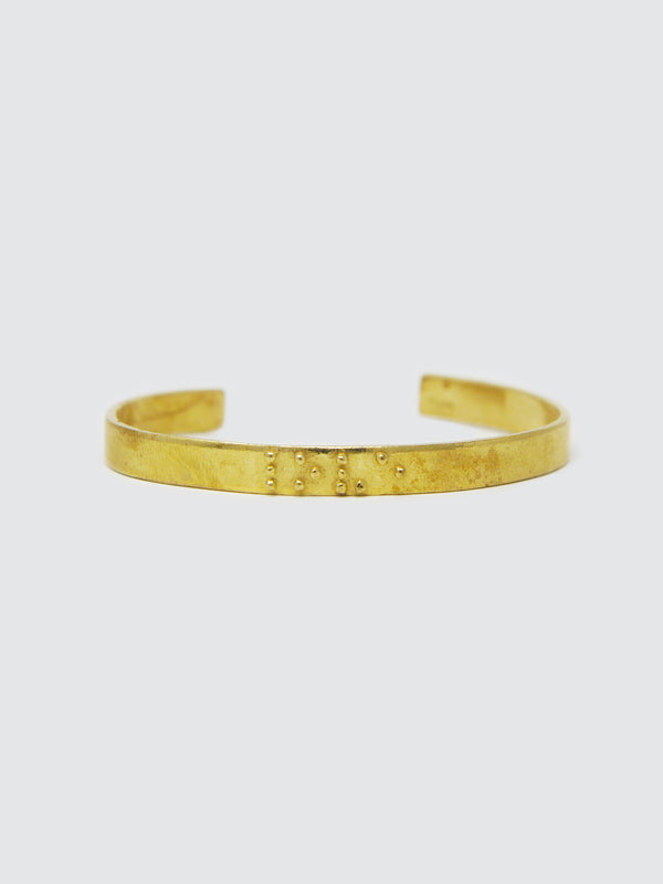 Two Blind Brothers - Gift Love is Blind Gold Plated Bangle Bracelet all