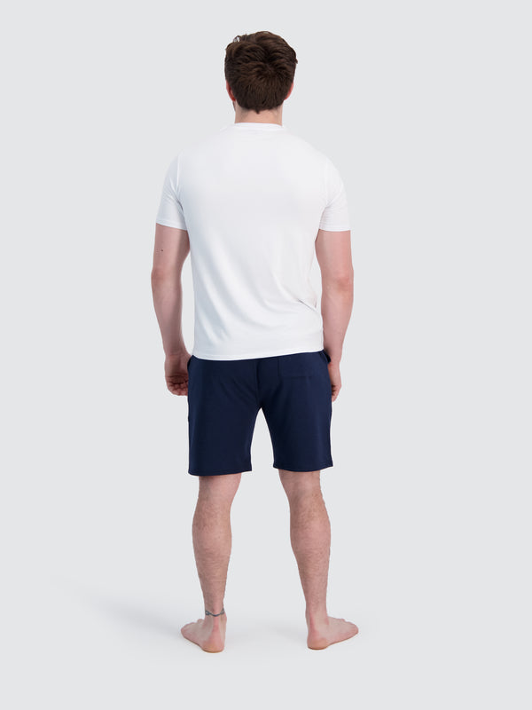 Two Blind Brothers - Mens Men's French Terry Lounge Shorts Navy