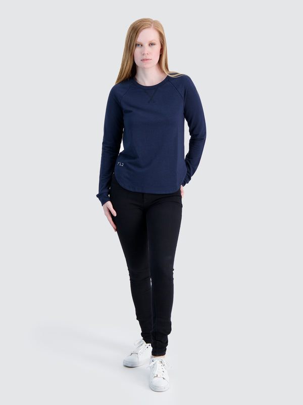 Two Blind Brothers - Womens Women's Raglan Navy