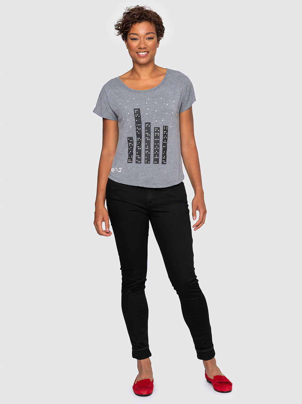 Two Blind Brothers - Womens NYC Skyline Graphic Dolman Hover