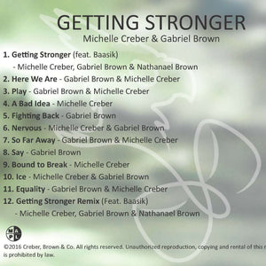 CD / download - Getting Stronger