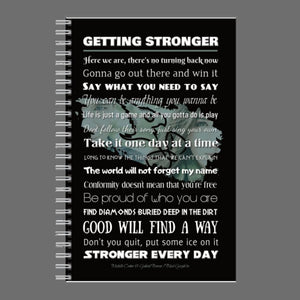 Journal - Getting Stronger Lyrics