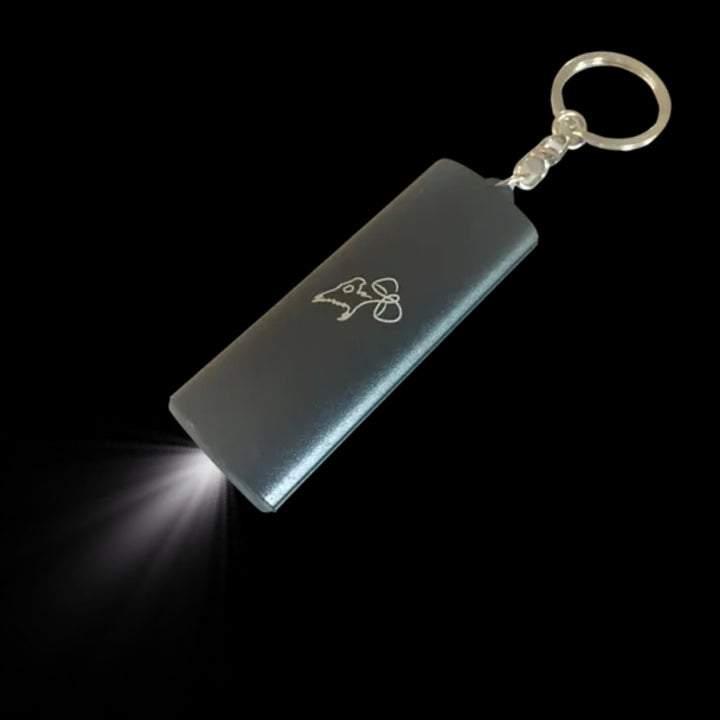 Flashlight Keychain - Gryph0nBloom