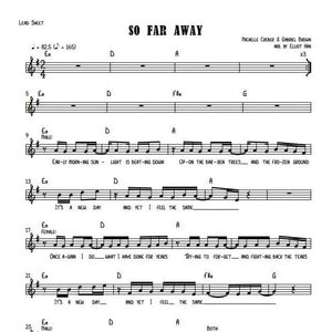 Sheet Music & MIDI - SO FAR AWAY
