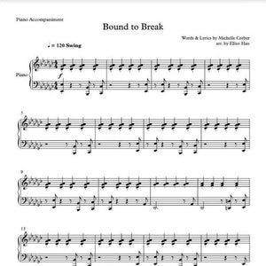 Sheet Music & MIDI - BOUND TO BREAK