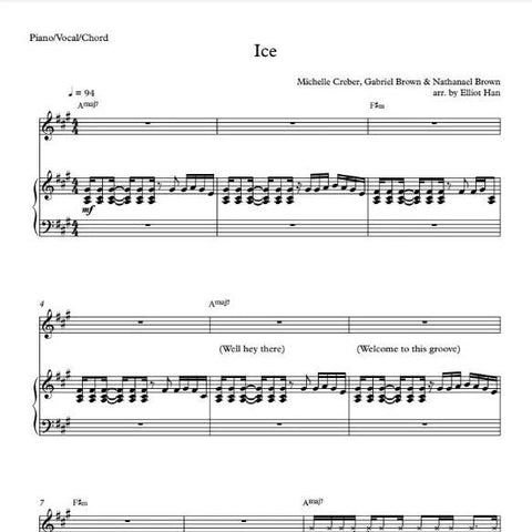Sheet Music & MIDI files - ICE