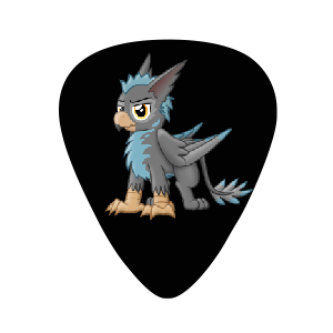 Guitar Picks - Black Gryph0n