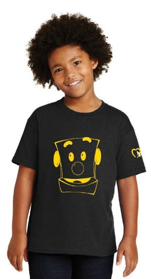 NCMEC Clicky Black T-shirt Toddler, Youth, & Adult