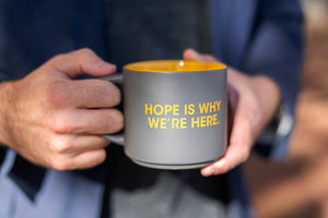 NCMEC Coffee Mug      HOPE IS WHY WE'RE HERE.