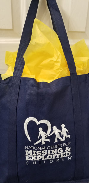 NCMEC Reusable Grocery or Gift Tote