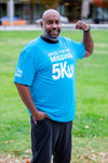NCMEC Miles for the Missing 5K Shirt - Atomic Blue