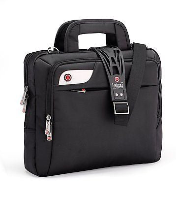 i-stay 13.3 inch tablet, netbook, ultrabook bag with non slip bag strap