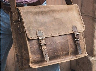 a7038d952e24 Scaramanga Vintage Leather Satchel – Cornerstone Business Products