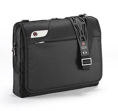 i-stay 15.6-16 inch messenger bag with non slip bag strap