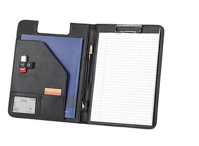 Falcon Leatherette A4 Conference Folder & Clip Board