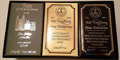Taylor Of Old Bond St Bath Soap Gift Box