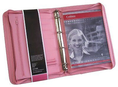 Collins Pink Folder/Ring Binder