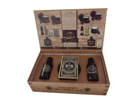 Dear Barber Beard and Moustache Grooming Mens Gift Set Collection 3