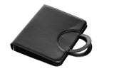 Executive A4 Faux Leather Conference Portfolio Folder with Foldable Handles