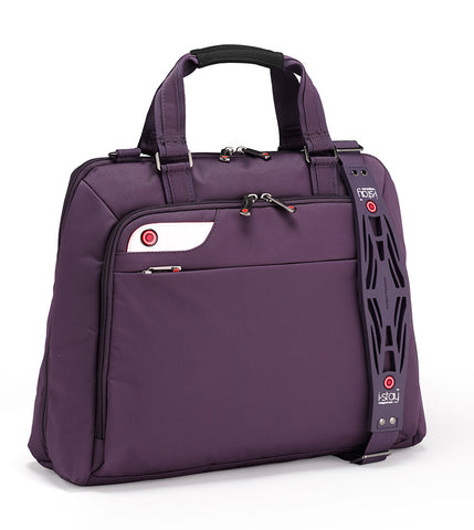 i-stay 15.6-16 inch ladies laptop bag with non slip bag strap