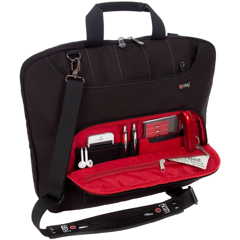 "i-stay Fineline range - 15.6"" Laptop / 12"" Tablet Organiser bag"