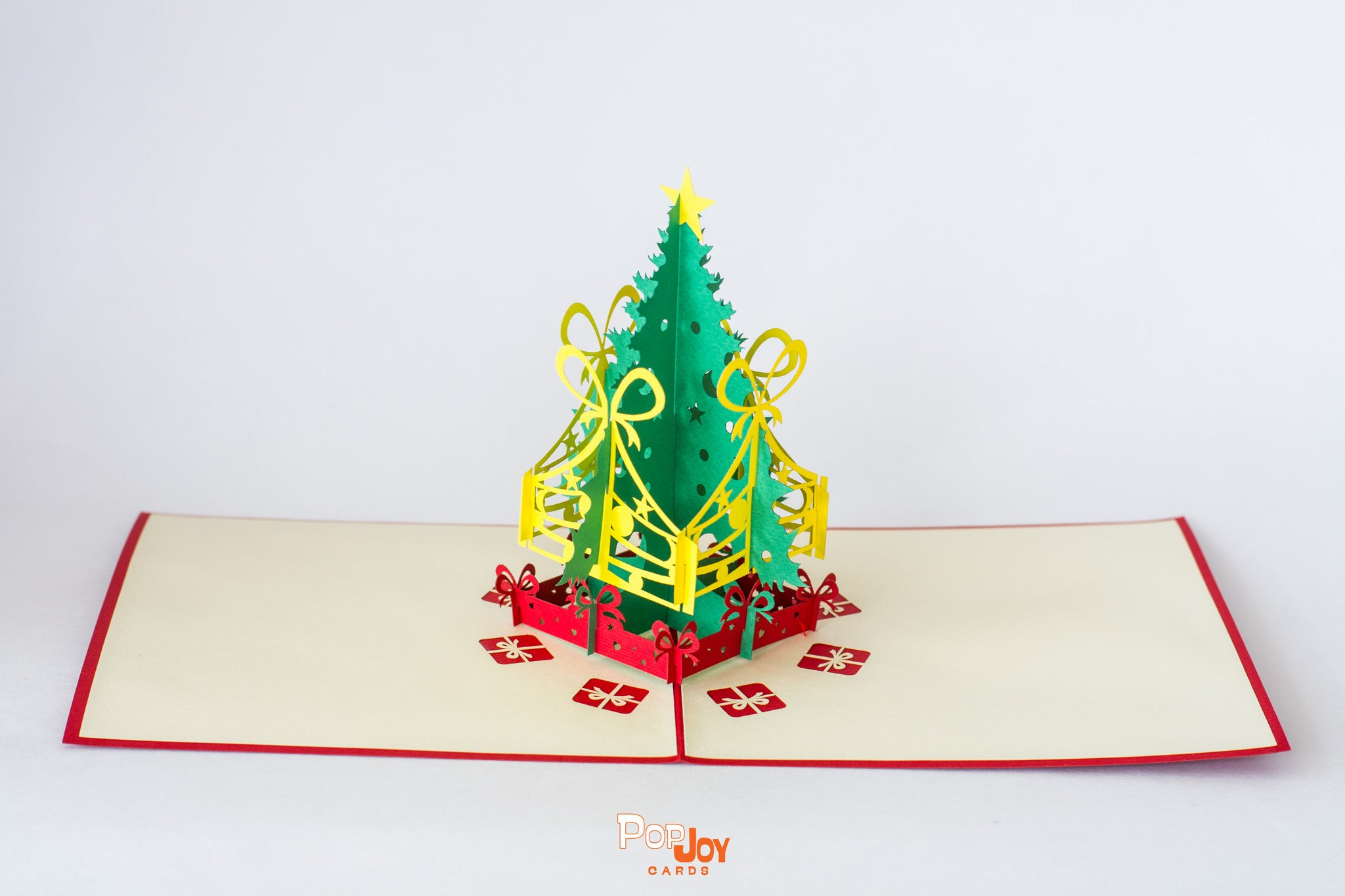 Pop Joy Card - Christmas Tree With Gifts