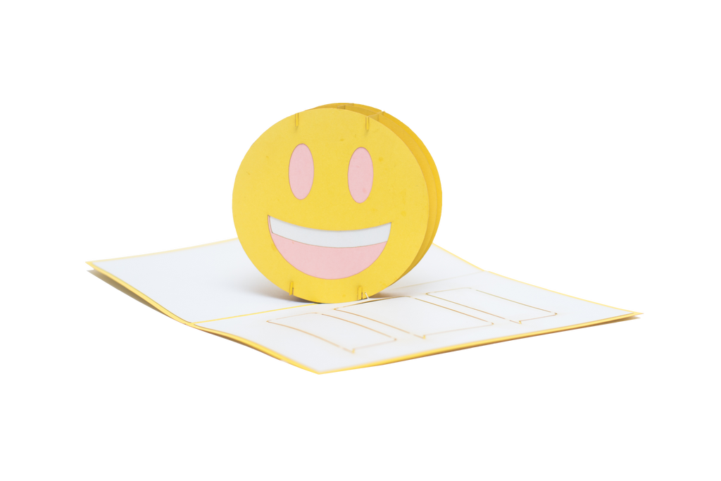 Happy Emoji Pop Up Card