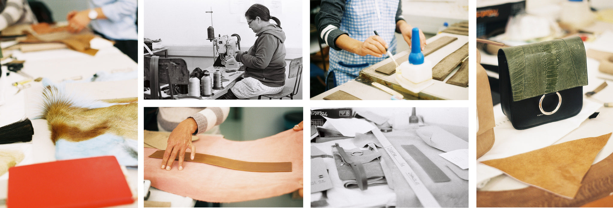 Our Cape Town-based workshop where our bags are handcrafted