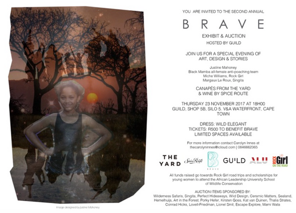 BRAVE auction - Rock Girl inspires, encourages, and invests in women and girls