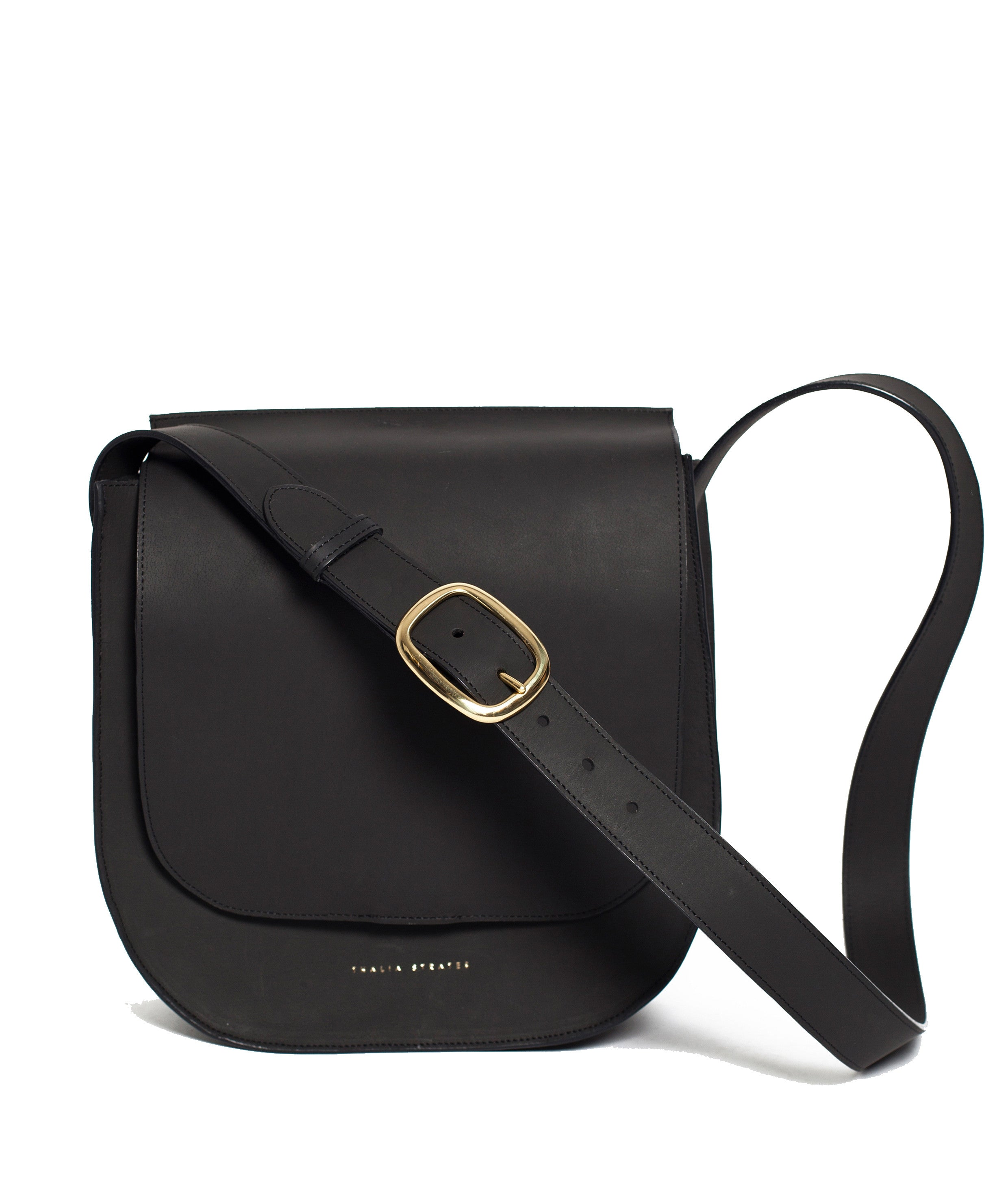 Amara Leather Bag - Black