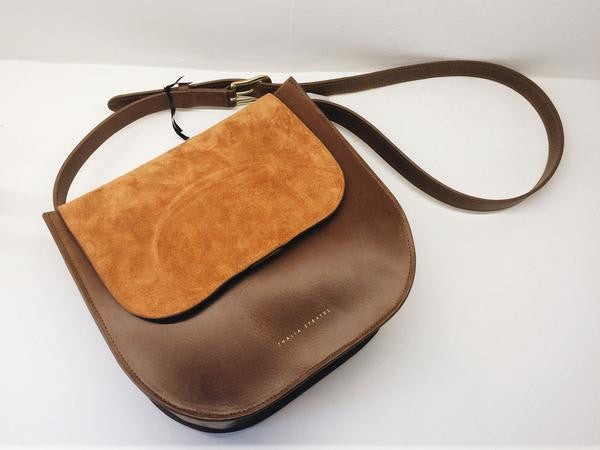 Amara Leather Bag - Cognac