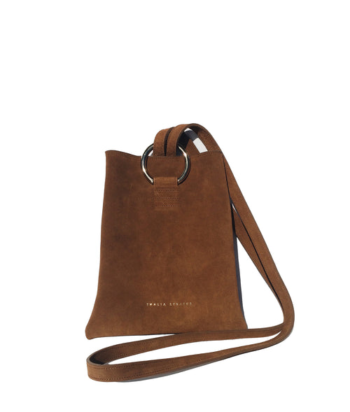 Athena Leather Bag - Biscuit