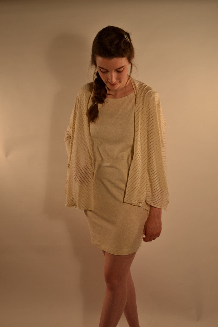 Rakow Pocket and Shawl Dress