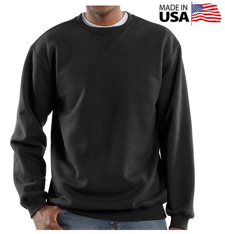Cotton Crewneck Sweatshirts - 50 States Clothing Tops - 1