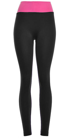 Women's Active Wear Stretch Leggings - 50 States Clothing Pants - 1